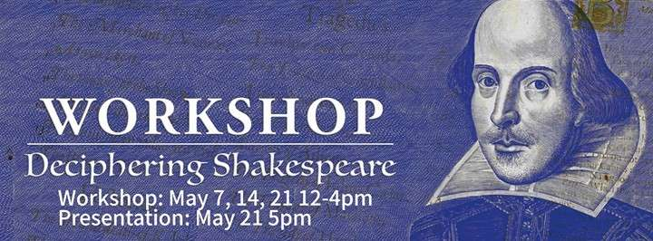 Workshop: Deciphering Shakespeare 實演場 The LAB Space 台北活動2017年照片