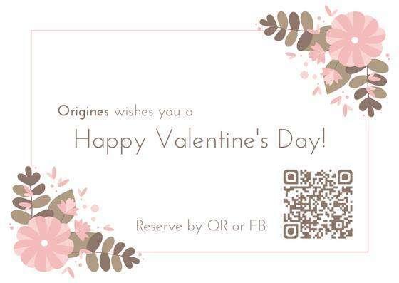 Valentine's day at Origines Origines 法國小酒館 台北活動2018年照片
