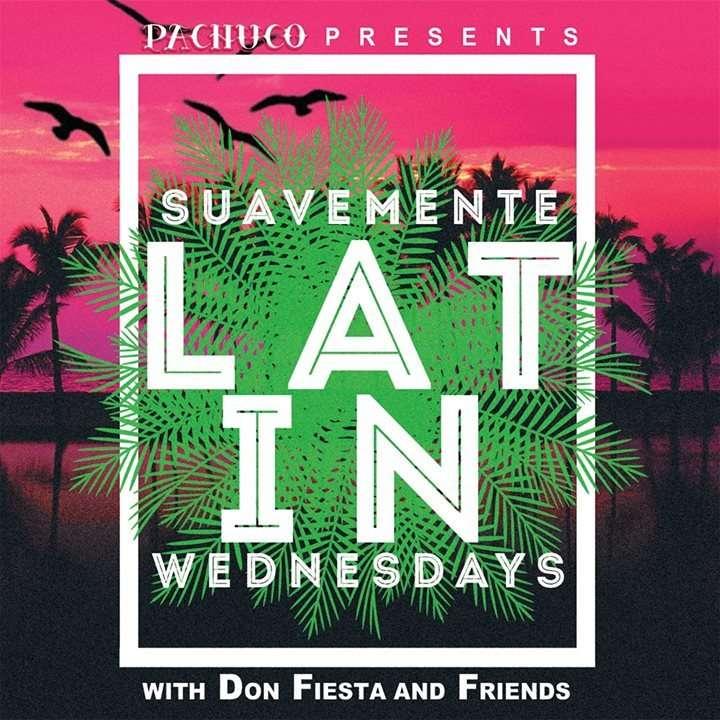 Suavemente Latin Wednesdays Pachuco 墨西哥酒吧 台北活動2018年照片