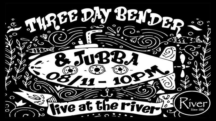 Three Day Bender and Jubba River 桃園活動2018年照片
