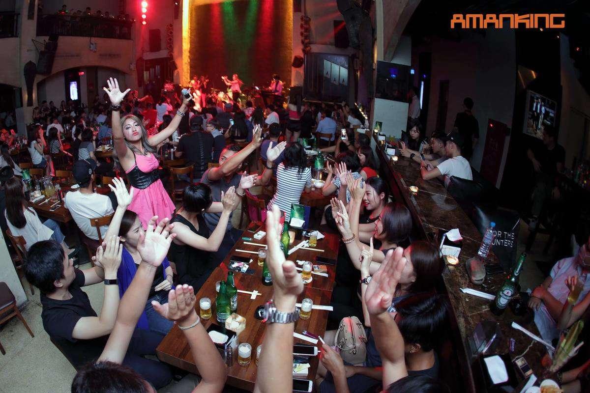 AMANKING 吧檯 台中 夜店,酒吧,live house,活動